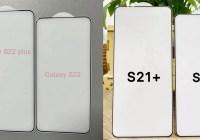 玻璃保貼產品提前揭露三星 Galaxy S22 與 S22+ 的螢幕重大變化?
