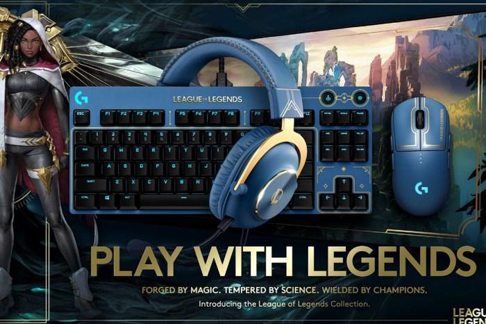 Logitech G 攜手《英雄聯盟》打造首次合作完整 IP 聯名全家桶:無線滑鼠、機械鍵盤、耳機與鼠墊一應俱全,11/4 正式上市!
