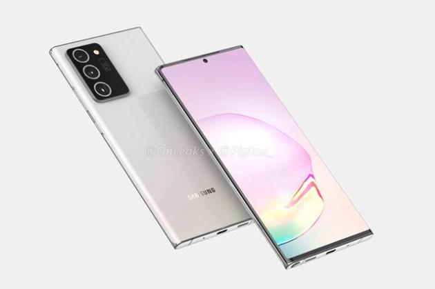 長這樣你可以嗎?三星 Galaxy Note20+ 產品設計渲染圖曝光,和前一代最大的差異是 S Pen?