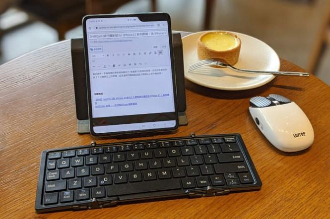 手機也能高效率打字!超便攜 B.O.W. 航世三摺疊藍牙鍵盤開箱!