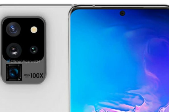 Galaxy S20 Ultra 主打「Space Zoom」100 倍數位變焦!「六筒」相機模組也將變好看?