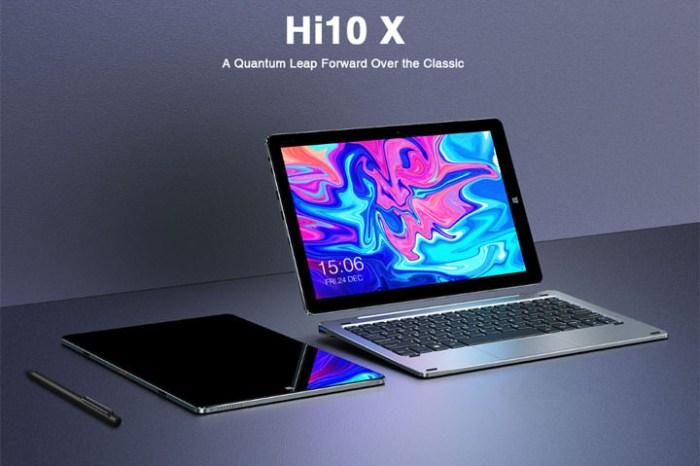 馳為 CHUWI 推出升級版平板電腦 Hi10 X,效能更為提升!