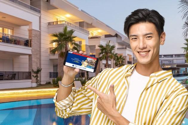 遠傳與 Booking.com 異業合作!專屬網頁訂房,住房漫遊上網滿 $300,最高獲得 $1350 電信帳單折抵金!