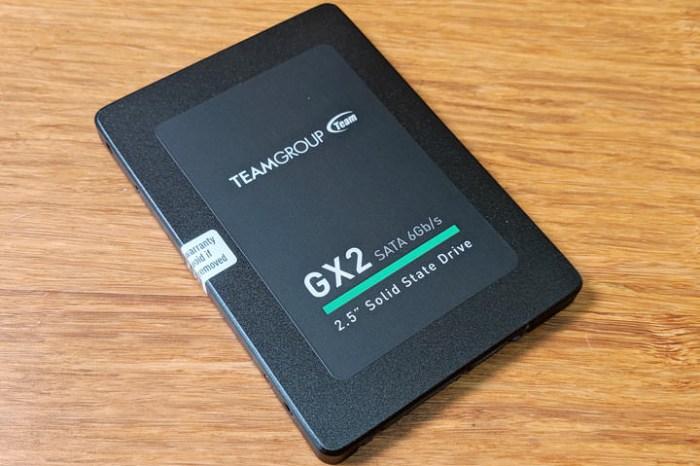 老舊筆電、電腦效能有感升級最佳選擇:十銓科技 TeamGroup GX2 2.5吋 SATA SSD 開箱與簡單實測!
