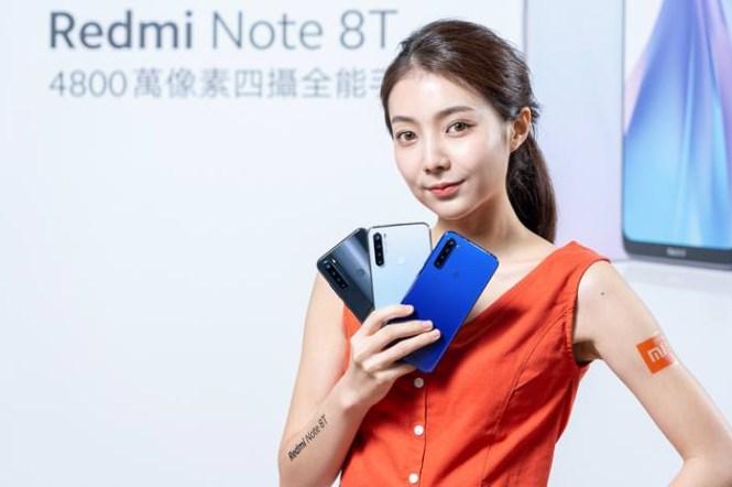 Redmi Note 8T 帶來超強性價比!內建 4800 萬四攝、最高支援 3CA 高速上網、支援 NFC…售價新台幣 4599 元起超親民!
