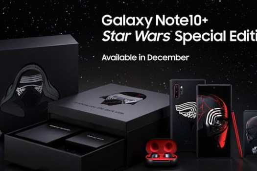 三星發表 Galaxy Note10+ 星際大戰特別版,搭上星戰電影《星際大戰 9:天行者的崛起》風潮!