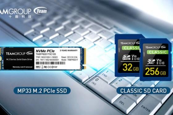 [PC] 十銓科技推出 MP33 M.2 PCIe 固態硬碟及Full-HD 錄製拍攝專用 Classic SD 記憶卡