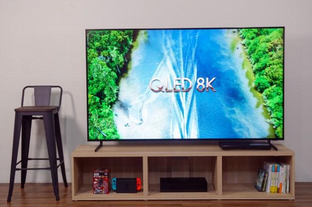 三星 QLED 8K 量子電視 Q900R 開箱體驗:不只 8K 超高解析度,更用金屬量子點顯色與 AI 科技震撼你的感官!