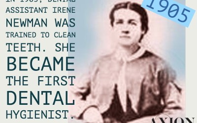 """Dental Hygienist"" became a profession in 1905"