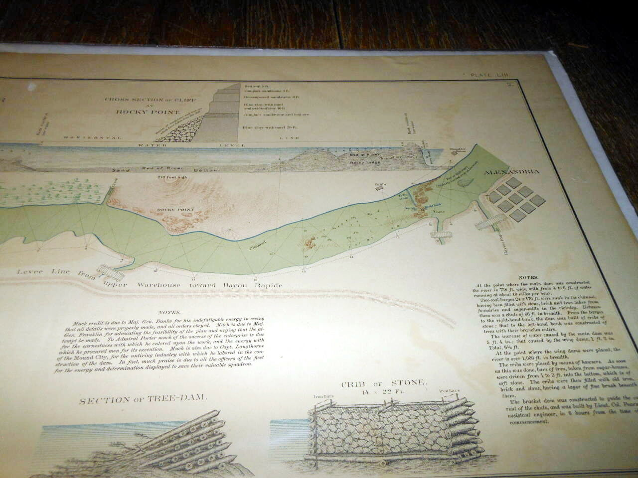 Civil War Battlefield Map Official Records Of The Union