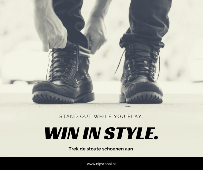 Stand out while you play Axis Consultancy nlp in bedrijf