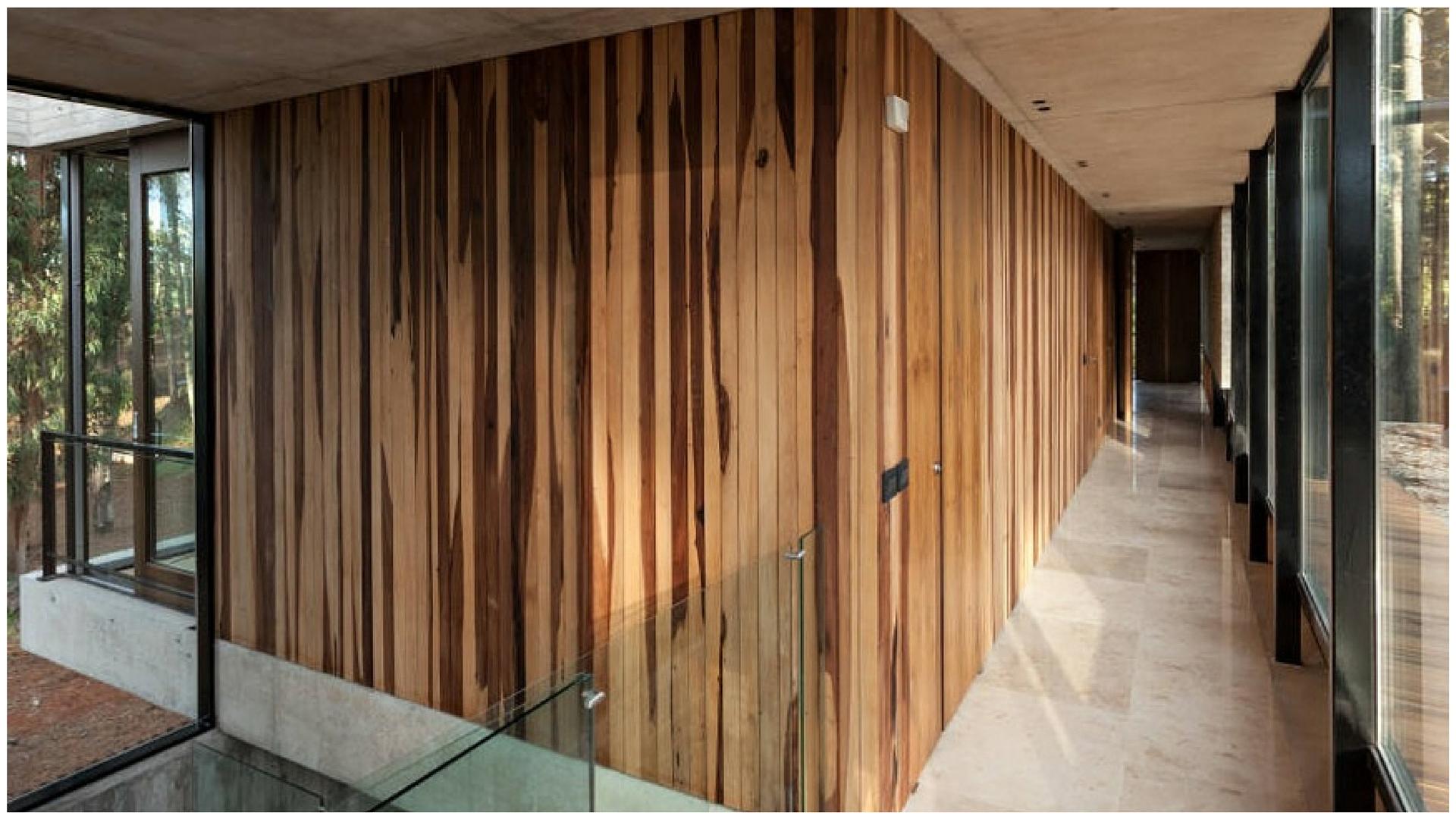 Paredes de madera tendencia  AXIS Carpintera y diseo