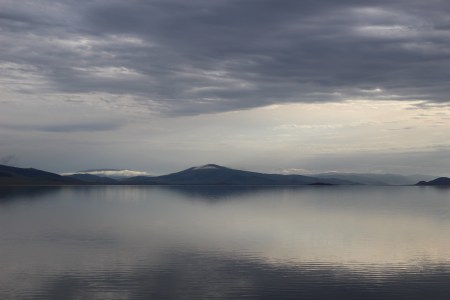 Tsagaan Nuur: il Lago Bianco.