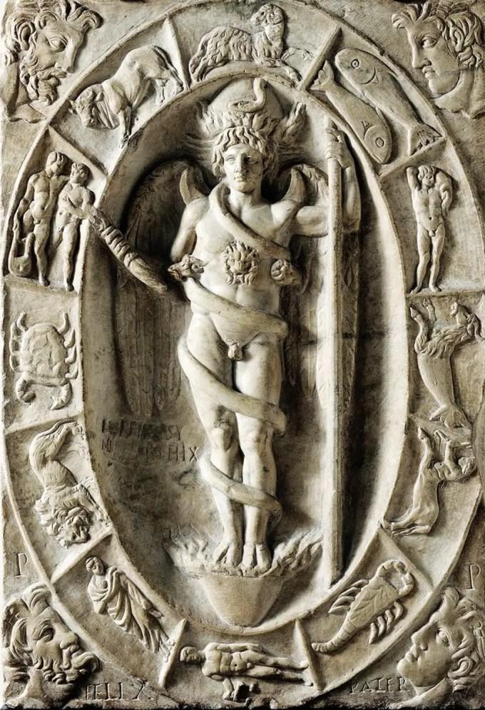 3-aion-phanes-rilievo-con-aion-phanes-entro-zodiaco-ii-sec-d-c