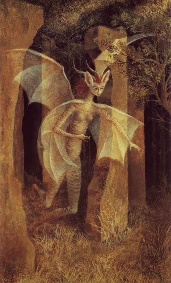"Remedios Varo, ""Lady Tigerbat"" .jpg"