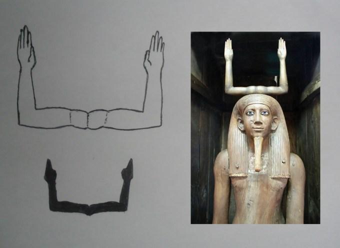 Ka geroglifico mio con Hor-Awibra