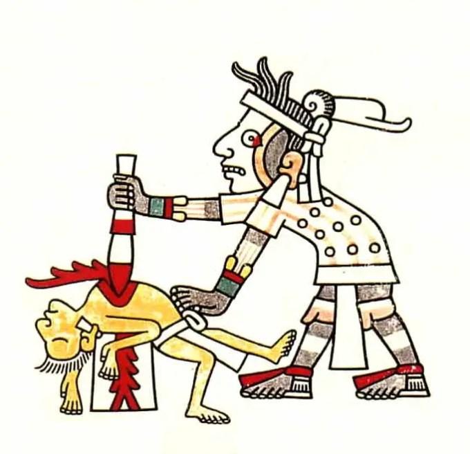 Human_sacrifice_(Codex_Laud,_f.8)