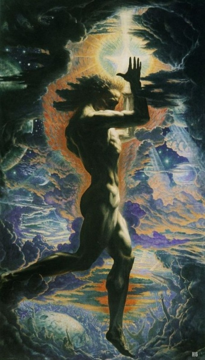 Jean Delville, Prometheus