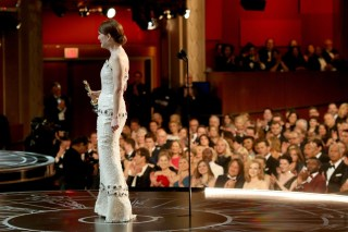 Julianne Moore during her acceptance speech for Actress in a Leading Role