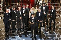 Birdman's acceptance speech for Best Picture