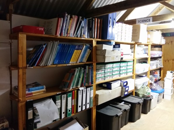 Our storeroom has taken resource management to the next level.