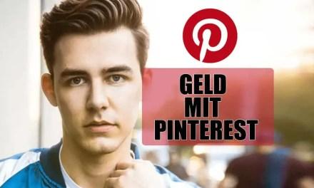 5 Wege um mit Pinterest Geld zu verdienen!