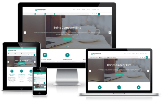 Best business agency and corporate WordPress Theme – Company Elite