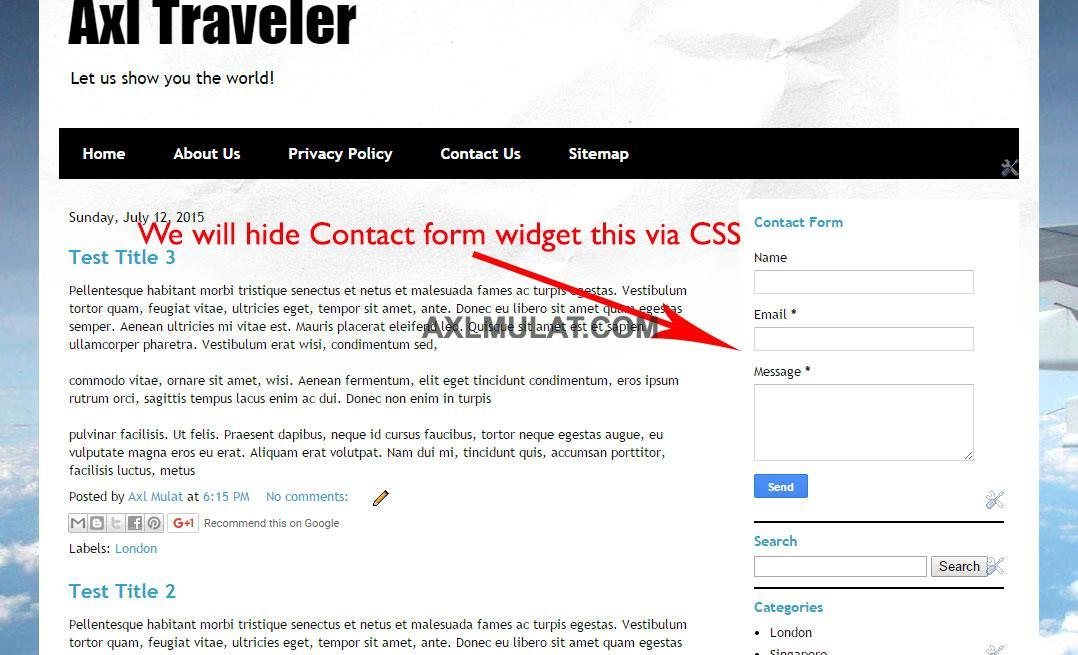 Blog Page 2  >> How To Add Contact Form In Blogger Blog Page Axlmulat Com