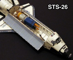 Space shuttle models axm paper space scale - Small space shuttle model ...