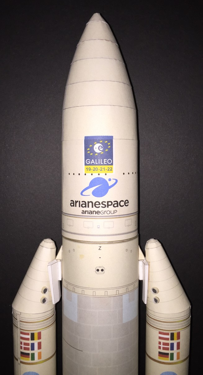 AXM Paper Space Scale Models com - Space Shuttles, ISS and
