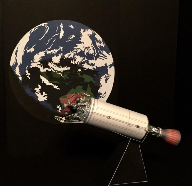 Falcon 9 - AXM Paper Space Scale Models.com | Falcon Heavy ...