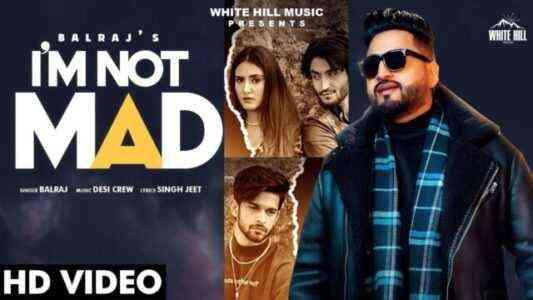 I am not Mad Hindi Lyrics