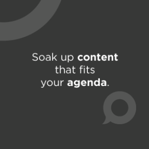 Soak up content that fits your agenda—from inspirational keynotes, to innovative panelists, think-tank meetings, and hands-on sessions where you'll dive deep into the Axonify platform.