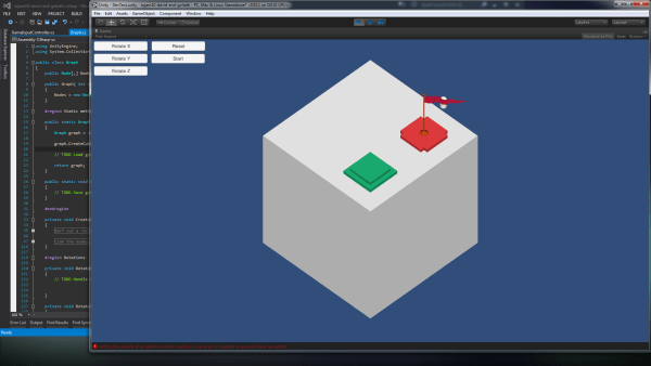 Day 1 of The Cube Thing, a cube model