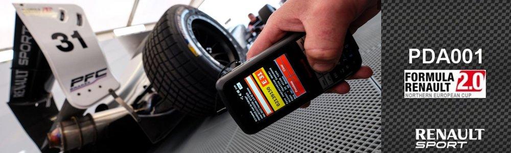 des pneus de voiture de course