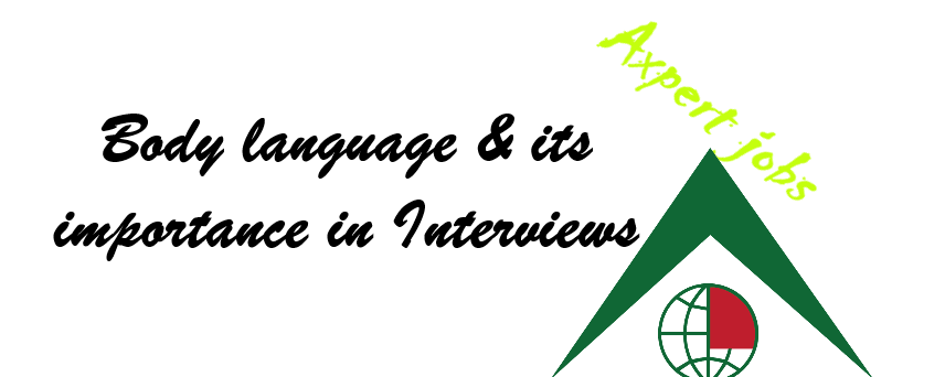 Body Language and its importance in Interviews!
