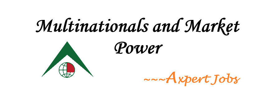 Multinationals and Market Power