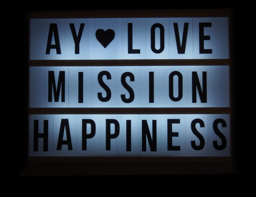 Ay love – Mission: Happiness