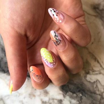 protez tırnak nail art