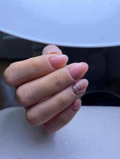 Tırnak yeme - protez tırnak uygulamasından sonra Aya Nails'de.