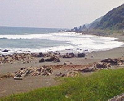 太平洋を眺めてテクテク。