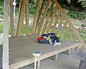 足摺の遍路小屋。