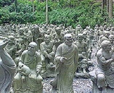 66番札所雲辺寺の五百羅漢②