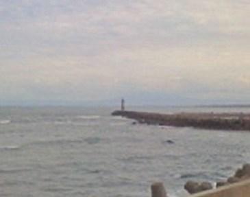 網走港の灯台