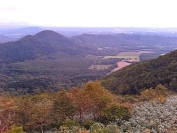 狩勝峠からの風景。