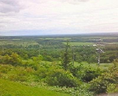 開陽台からの風景。