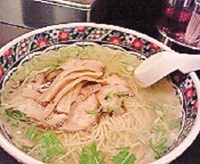 函館麺厨房味彩の味彩塩拉麺