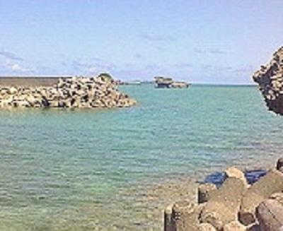2009/07/07 14:38 浜比嘉島の海③