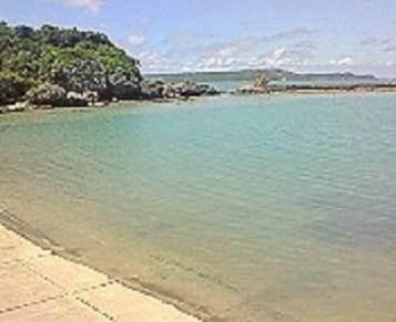 2009/07/07 14:27 浜比嘉島の海①