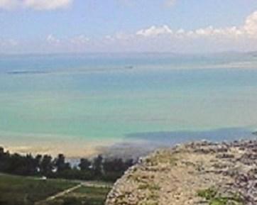 2009/07/07 12:40 勝連城から東シナ海を望む。